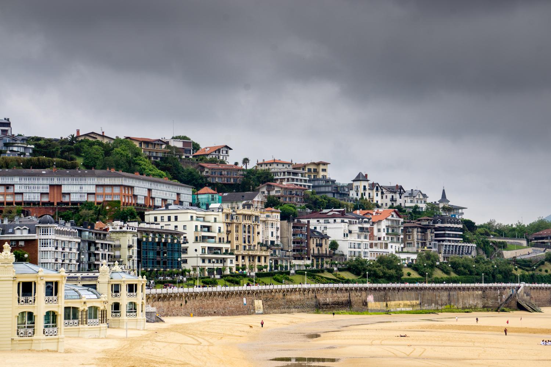 Even on an overcast day, San Sebastián was beautiful!
