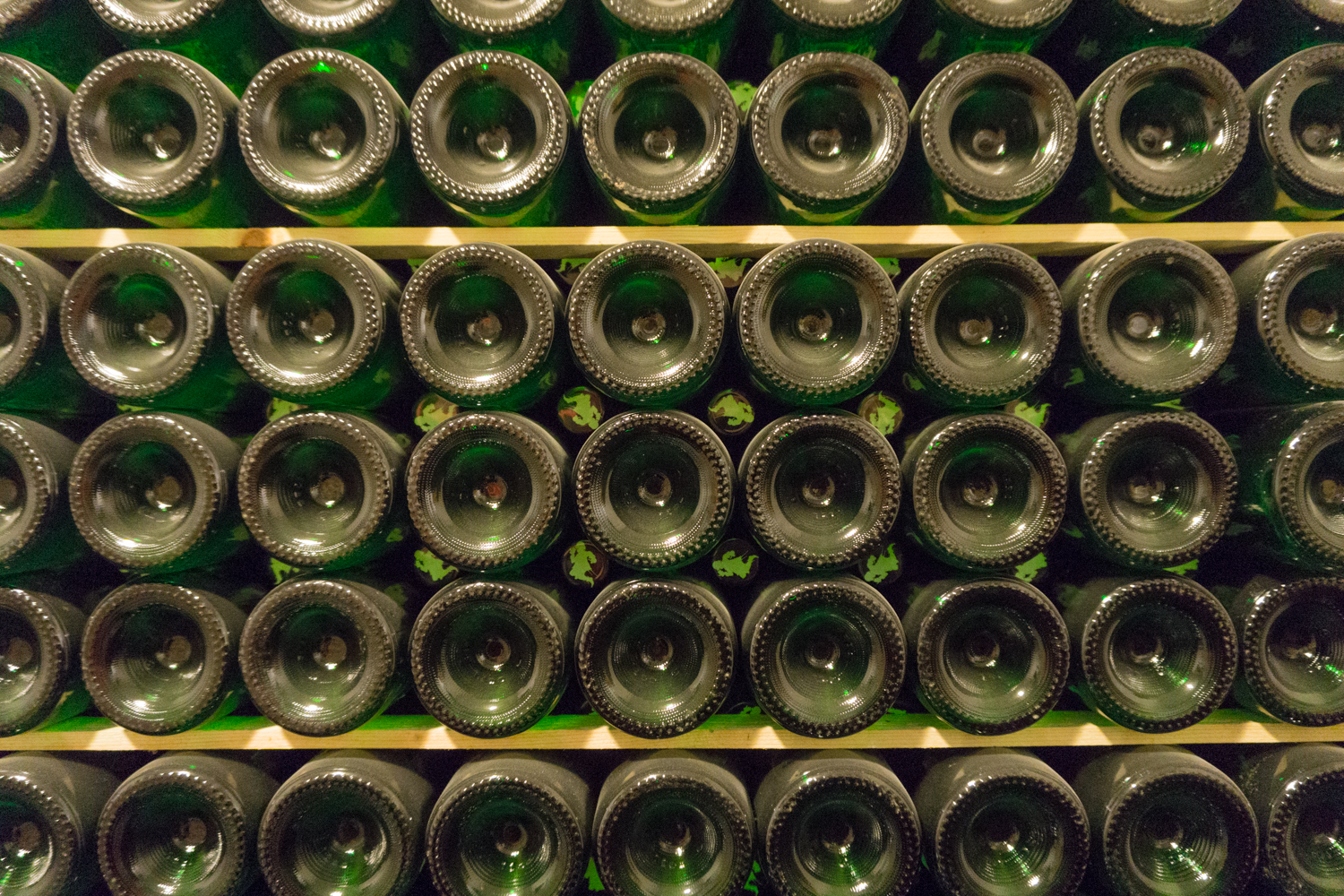 BRUSSELS: Bottles ready to ship at Brasserie Cantillon